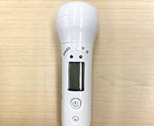 患者様・スタッフへの非接触検温、問診票による体調の確認