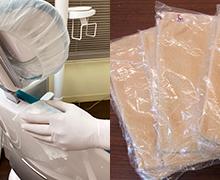 治療に使用する設備、器具、備品の消毒/交換を患者様ごとに徹底